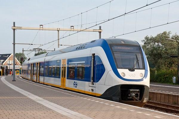 Tàu hỏa giúp du khách di chuyển giữa các thành phố tại Hà Lan