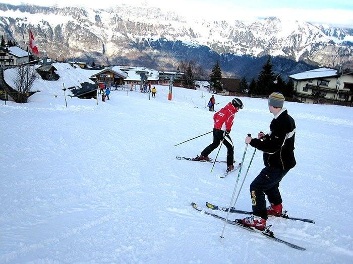 du lịch trượt tuyết Hàn Quốc