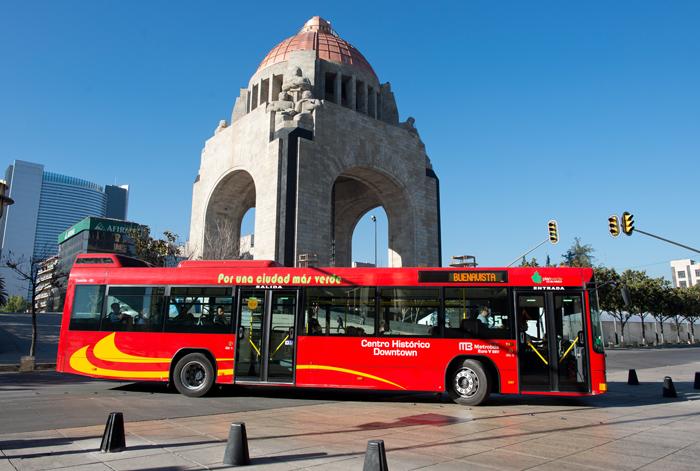 Xe bus Mexico