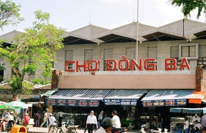 Chợ Đông Ba - địa điểm du lịch Huế