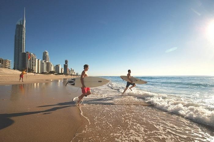 Bãi biển Surfer Paradise