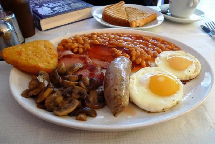 Bữa sáng kiểu Anh