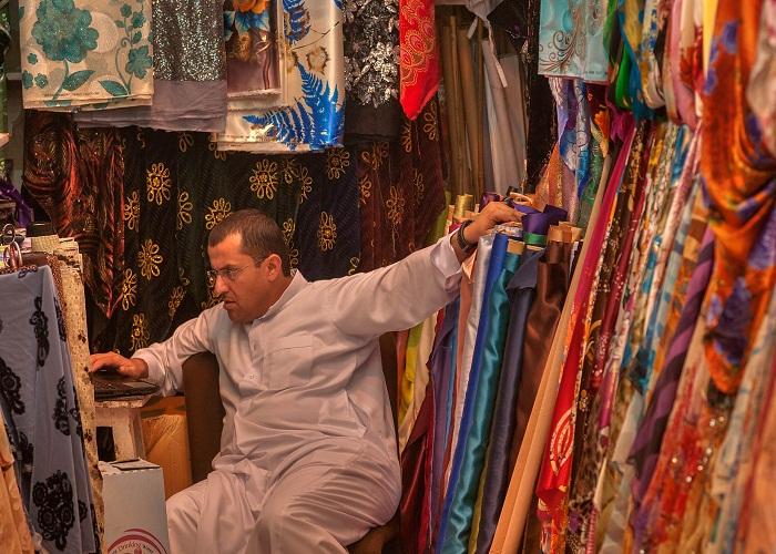 Vải và hàng dệt Qatar
