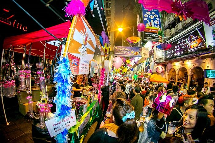 Lan Quế Phường địa điểm ăn chơi về đêm số một tại Hong Kong