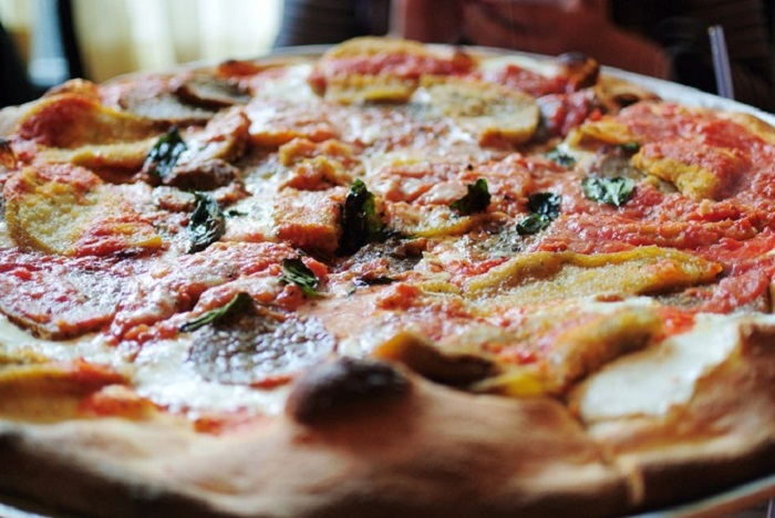 Pizza cá