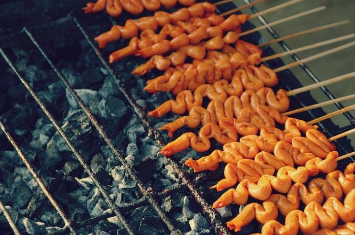 Gà nướng Isaw