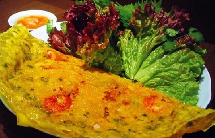 Đặc sản bánh xèo Long Hải