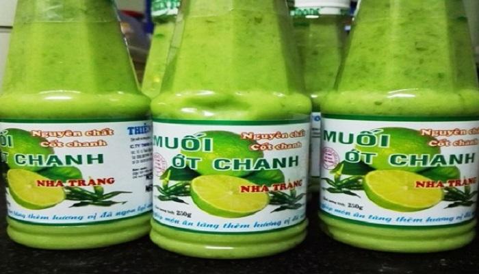 Muối ớt xanh Nha Trang