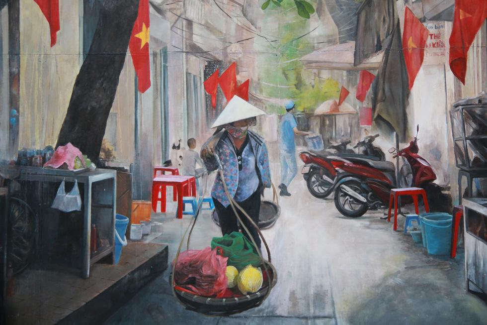 phố bích họa Phùng Hưng
