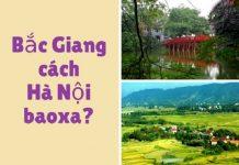 Di chuyển từ Bắc Giang ra Hà Nội