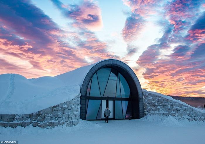 Khách sạn nổi trên băng ở Thụy Điển và kinh nghiệm du lịch đến đây