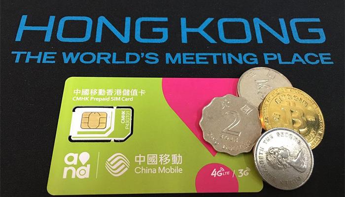 Sim du lịch hong kong