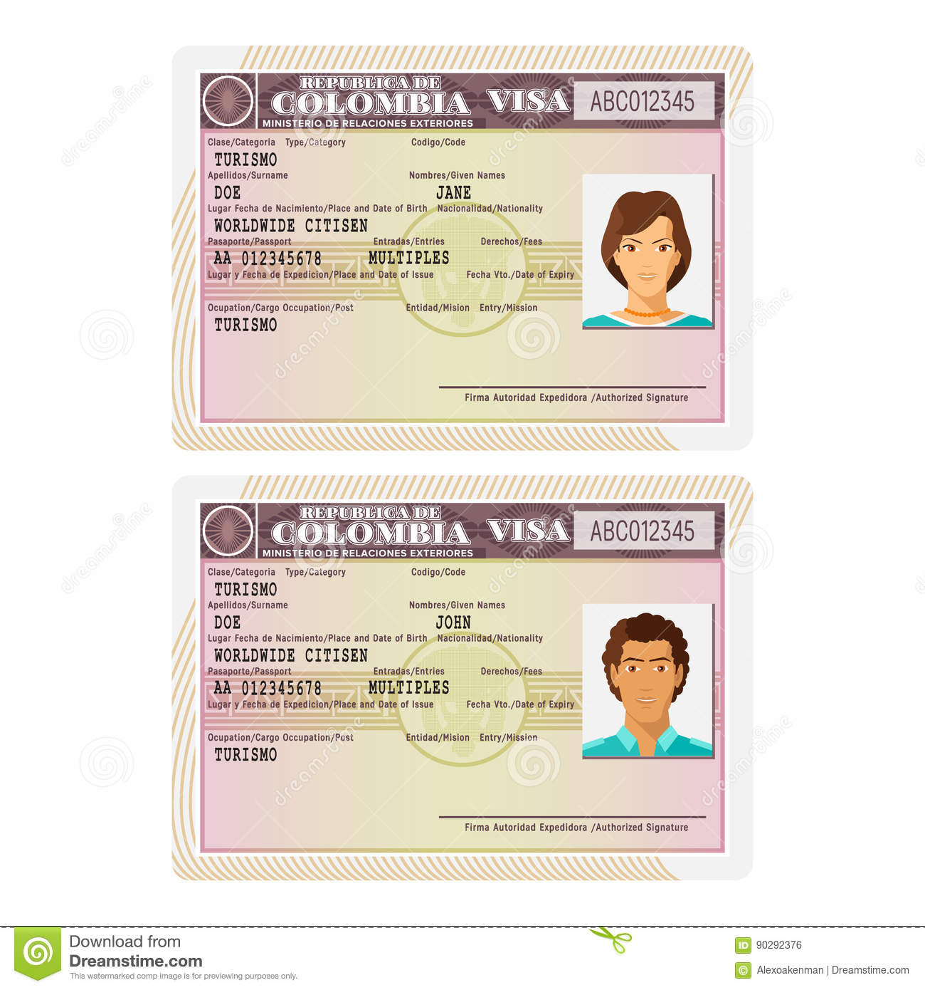 Visa là loại giấy tờ quan trọng nhất cho phép bạn được đặt chân đến Colombia
