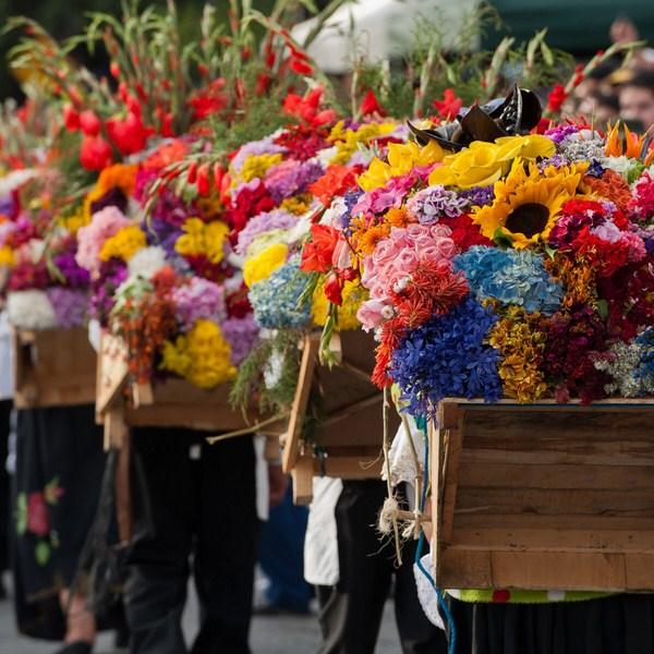 Lễ hội hoa ở Colombia