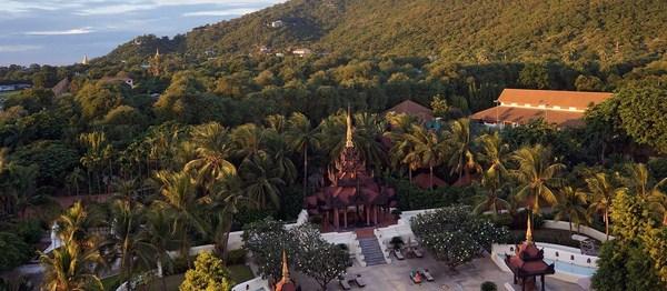 Một góc khu nghỉ dưỡng cao cấp Mandalay Hill Resort Hotel