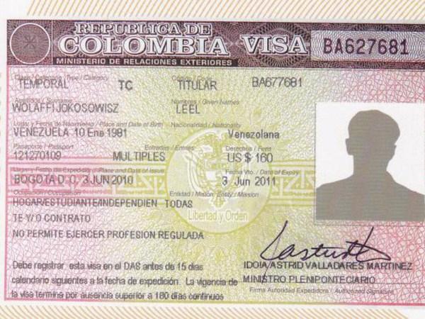 Visa là loại giấy tờ quan trọng hàng đầu để bạn đủ điều kiện được đặt chân đến Colombia