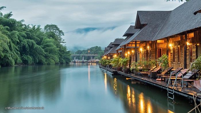 Kanchanaburi là một vùng đất xinh đẹp tại Thái Lan