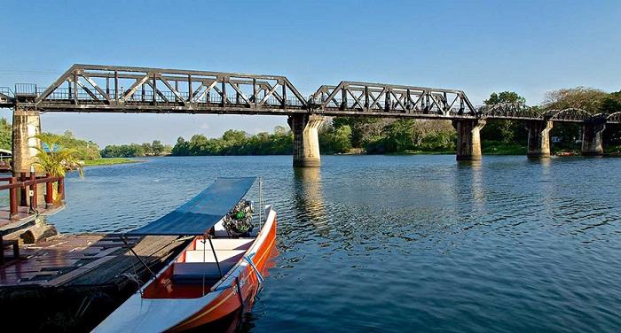Cây cầu sông Kwai lịch sử,kinh nghiệm du lịch kanchanaburi