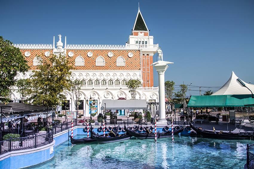 Cảnh đẹp ở Venezia Hua Hin Thái Lan