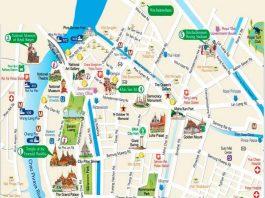 Bản đồ du lịch Bangkok, mua bản đồ bangkok ở đâu