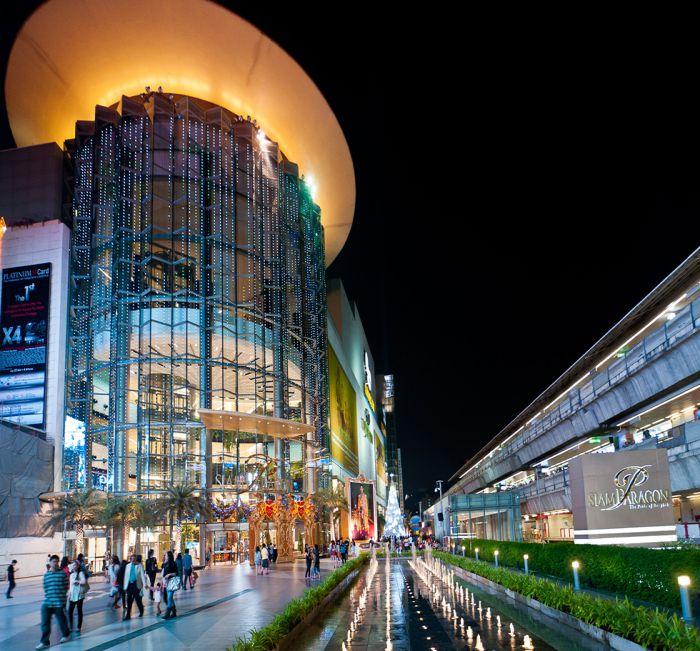 Bản đồ du lịch Bangkok khu Siam Paragon