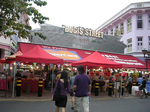 Chợ Bugis Street Singapore