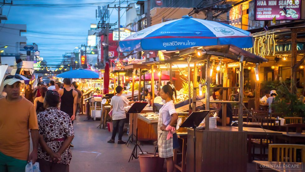 Các quán ẩm thực vỉa hè Hua Hin Thái Lan