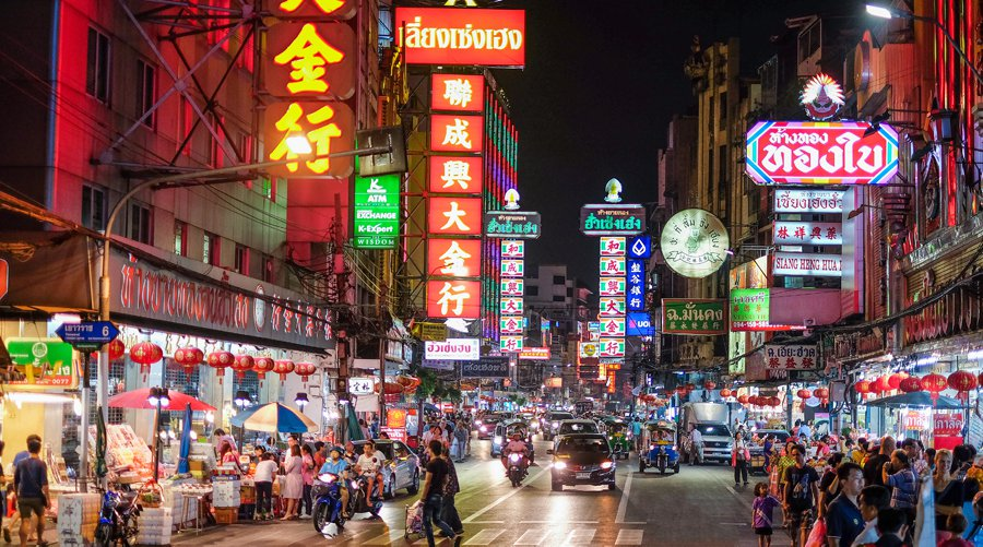 Bản đồ du lịch Bangkok Chinatowmn