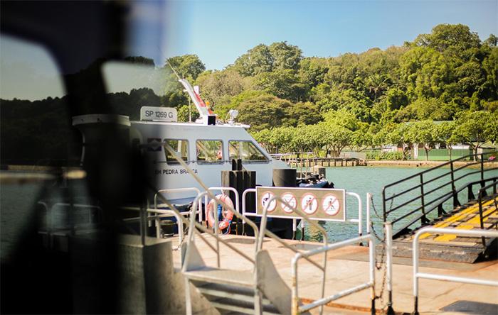 Bến phà để đi đến đảo Lazarus, kinh nghiệm du lịch đảo Lazarus