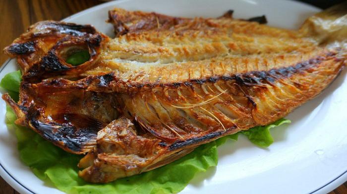 Con cá Okdom nướng ở Hàn Quốc, kinh nghiệm du lịch đảo Jeju