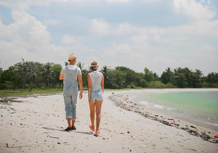 Cùng nhau đi dạo trên bãi biển Lazarus trắng mịn, kinh nghiệm du lịch đảo Lazarus