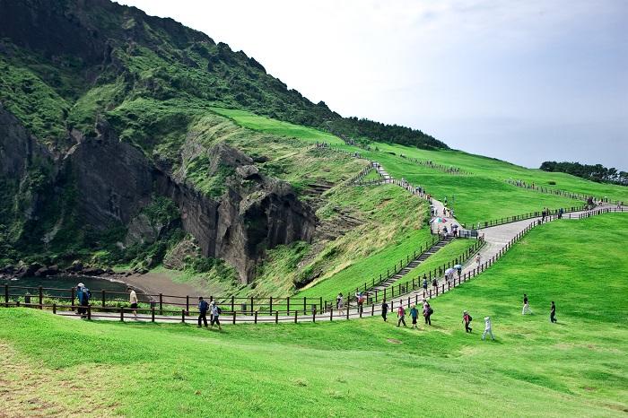 Đỉnh Seogsan ở Hàn Quốc, kinh nghiệm du lịch đảo Jeju