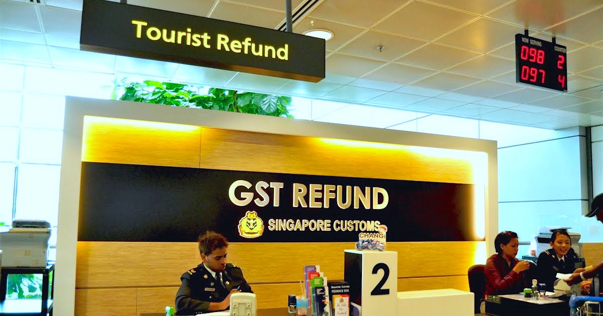 GST Refund Singapore, kinh nghiệm du lịch mua sắm ở Singapore