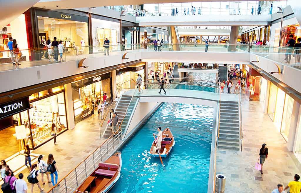 Một trung tâm mua sắm tuyệt đẹp ở Singapore, kinh nghiệm du lịch mua sắm ở Singapore