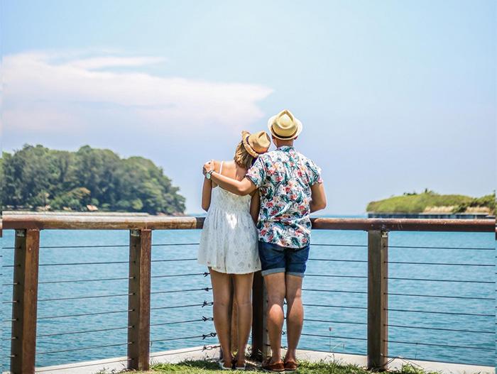 Background cực đẹp đầy thơ mộng trên đảo, kinh nghiệm du lịch đảo Lazarus
