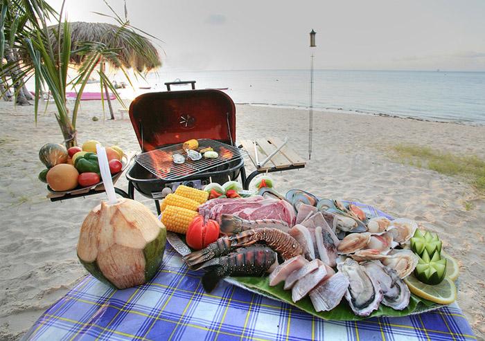 Một chuyến Picnic BBQ bên bờ biển, kinh nghiệm du lịch đảo Lazarus