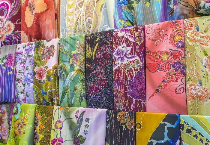 Vải lụa Batik Malaysia, nên mua gì ở malaysia