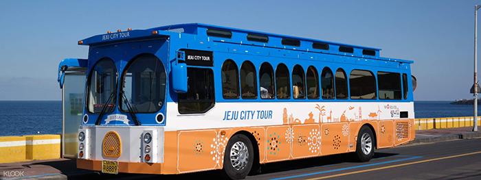 Xe Bus trên đảo Jeju, kinh nghiệm du lịch đảo Jeju