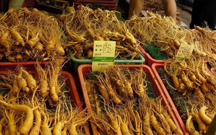 Kinh nghiệm mua sâm ở Hàn Quốc khi đi du lịch