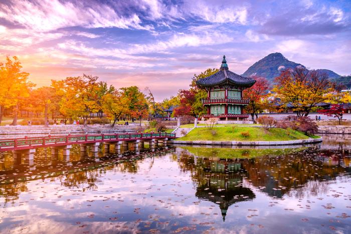 Hàn Quốc là đất nước được mong đợi của nhiều du khách