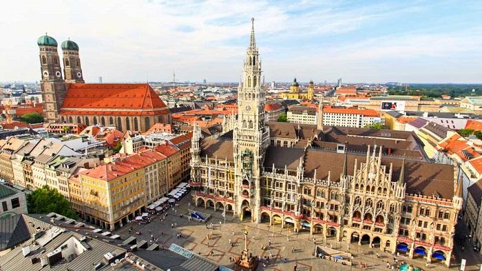 Kinh nghiệm du lịch Munich – thành phố cổ kính và phồn hoa của Đức