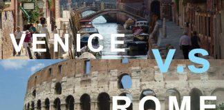 Cong đường đi từ Rome đến Venice