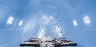 khách sạn nổi trên băng tại Thụy Điển