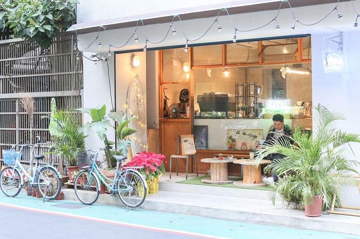 những quán cafe đẹp nhất tại Đài Bắc