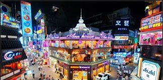 những khu mua sắm nổi tiếng tại Hàn Quốc