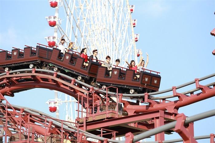 kinh nghiệm du lịch công viên Asia Park