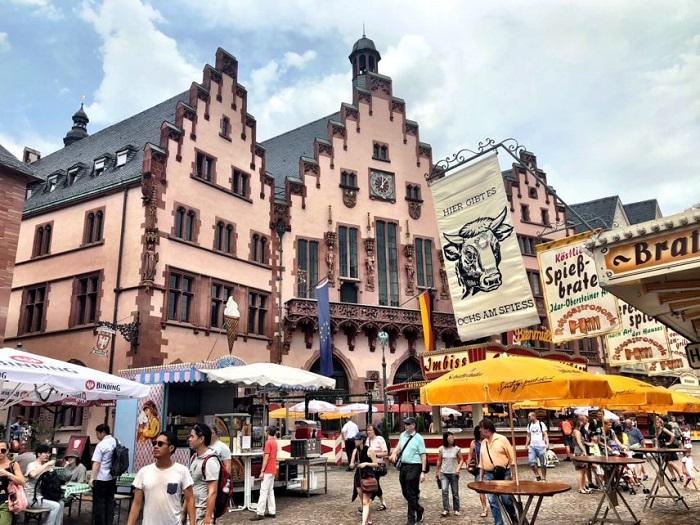 kinh nghiệm du lịch Frankfurt