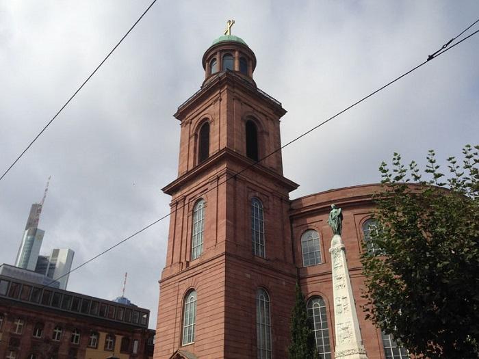 Nhà thờ St.Paul tại thành phố Frankfurt