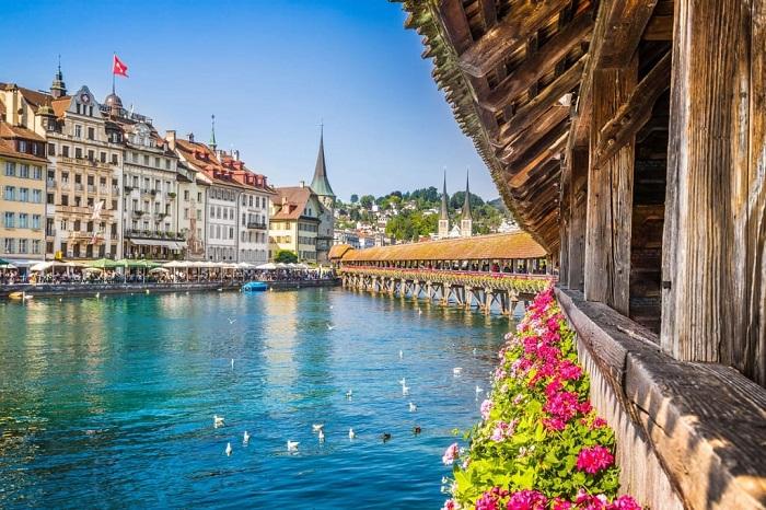 Cây cầu Lucerne
