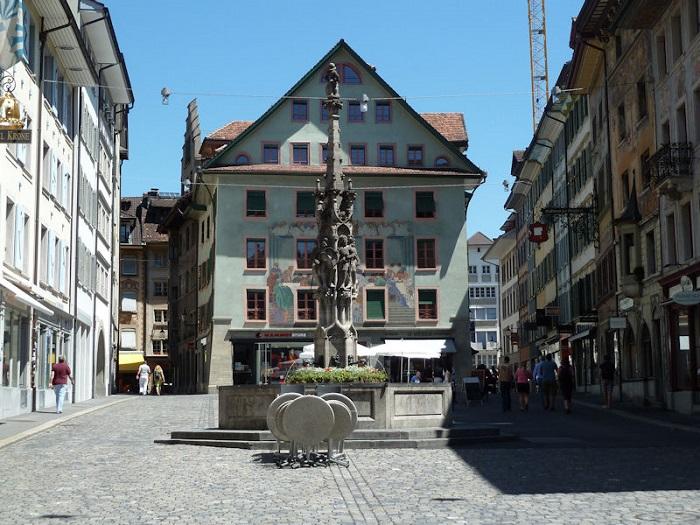 Khu phố cổ tại Lucerne